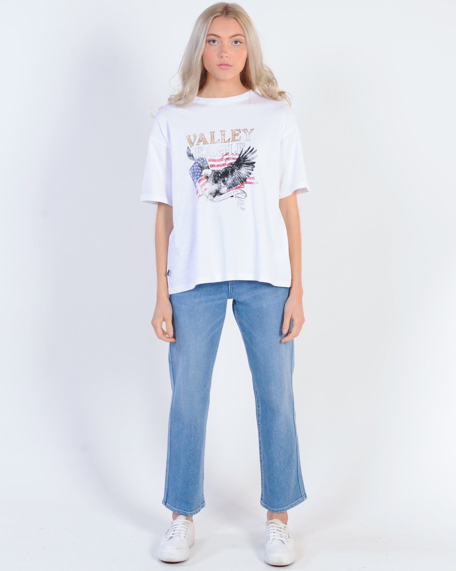 All About Eve Valley Eagle Tee - White