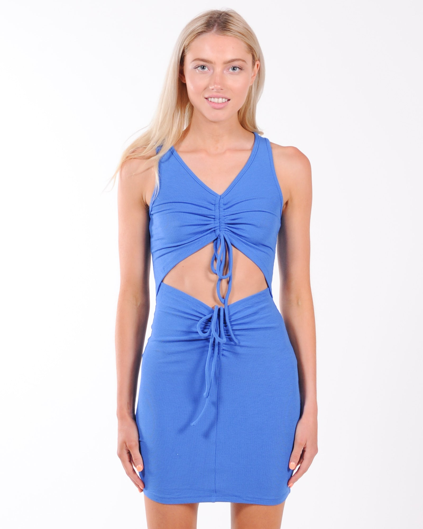 By Dylan Levi Dress - Cobalt