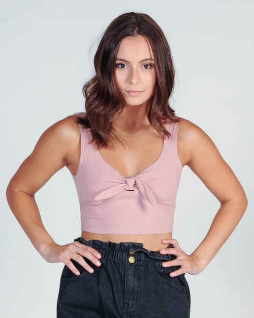 LITTLE CRUSH TOP - PINK