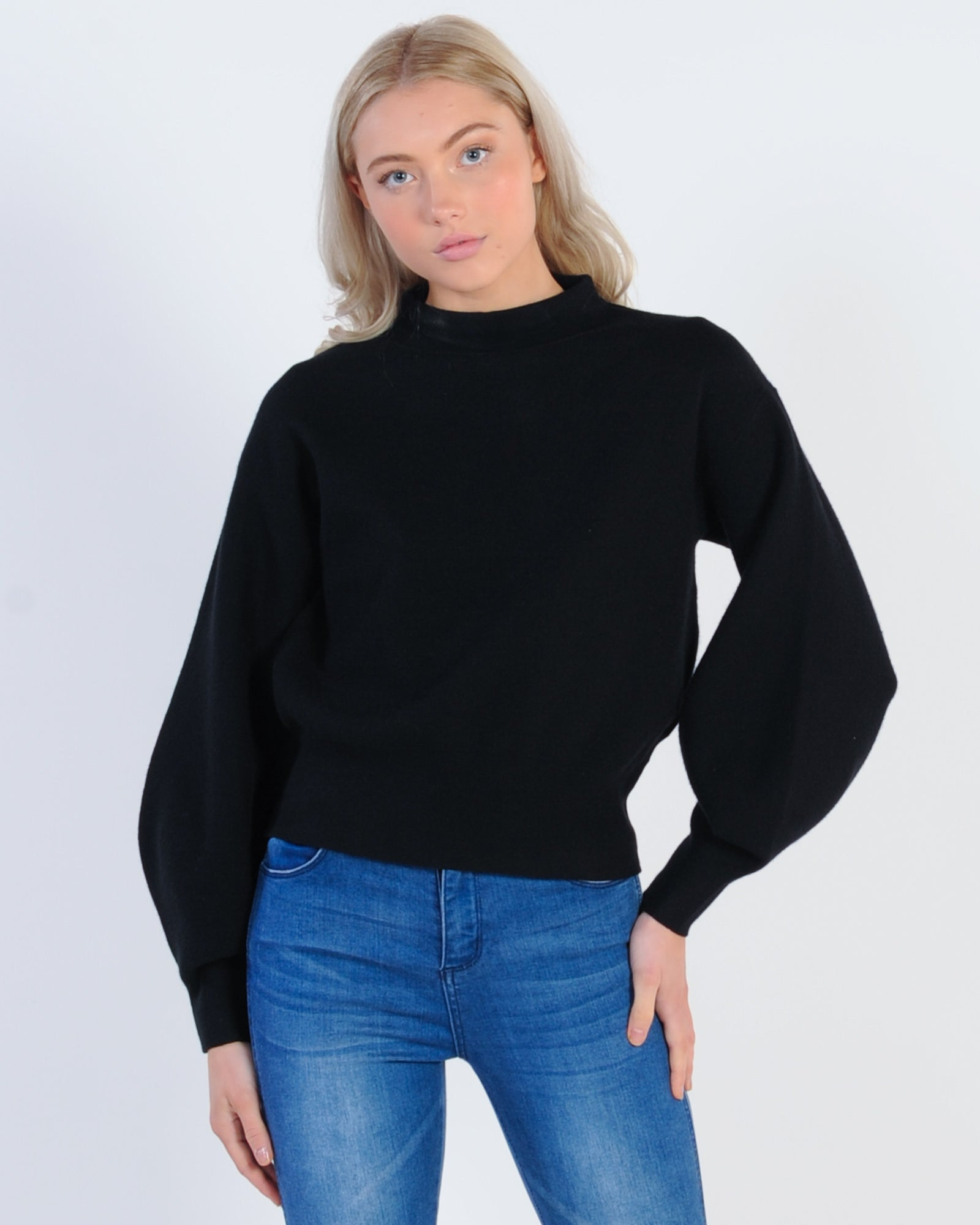 Close To You Knit Jumper - Black