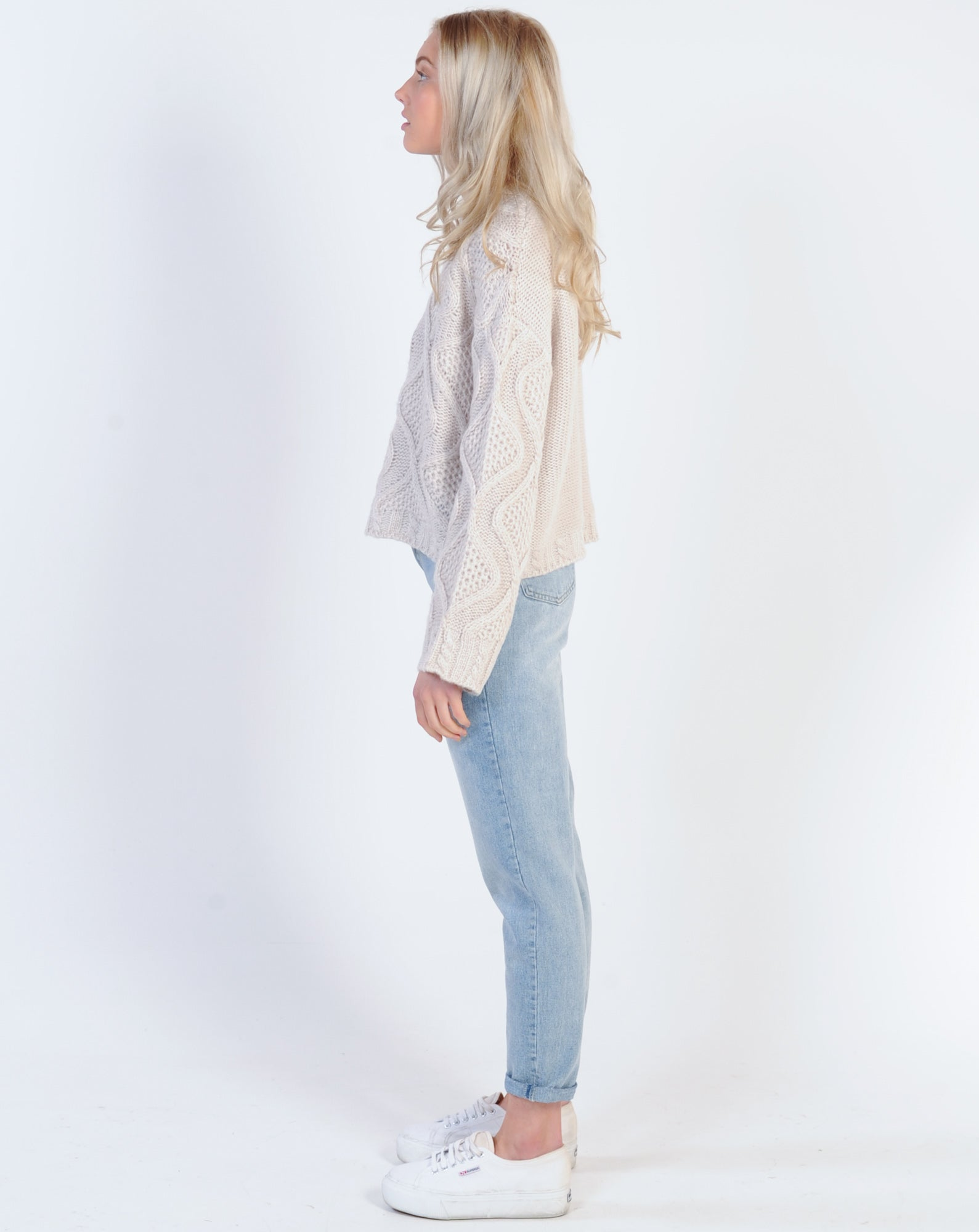 Madison The Label Silvi Mom Jean - Denim