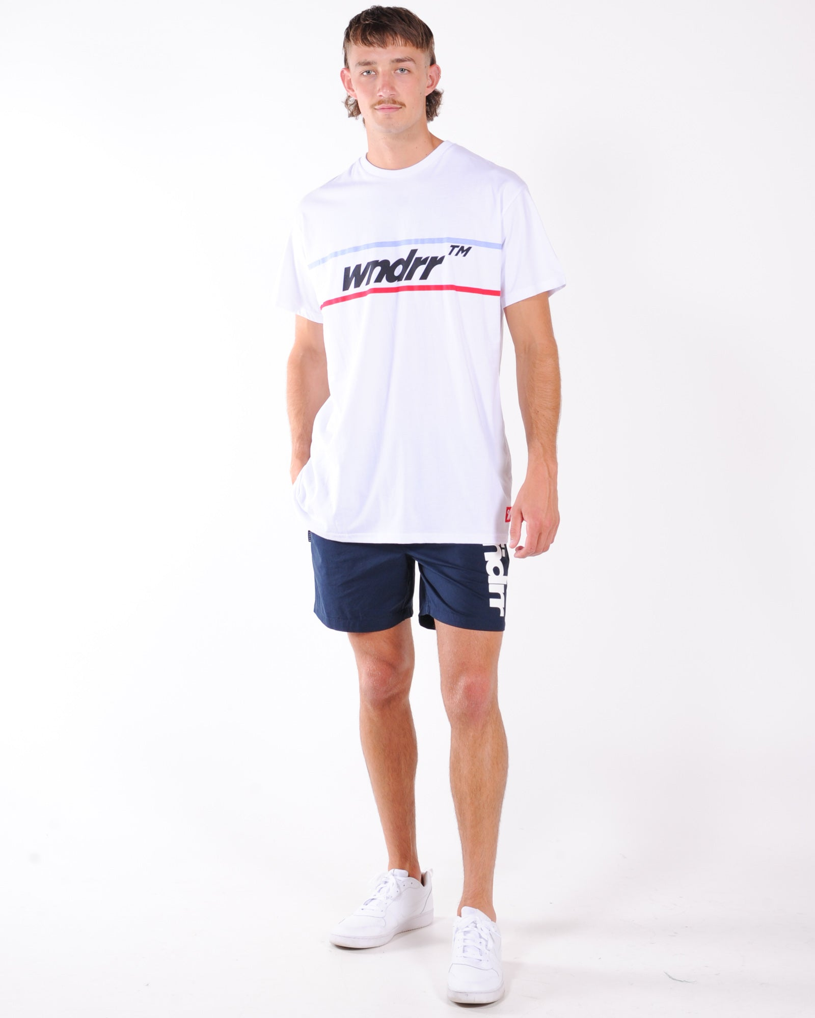 Wndrr Booker Custom Fit Tee - White