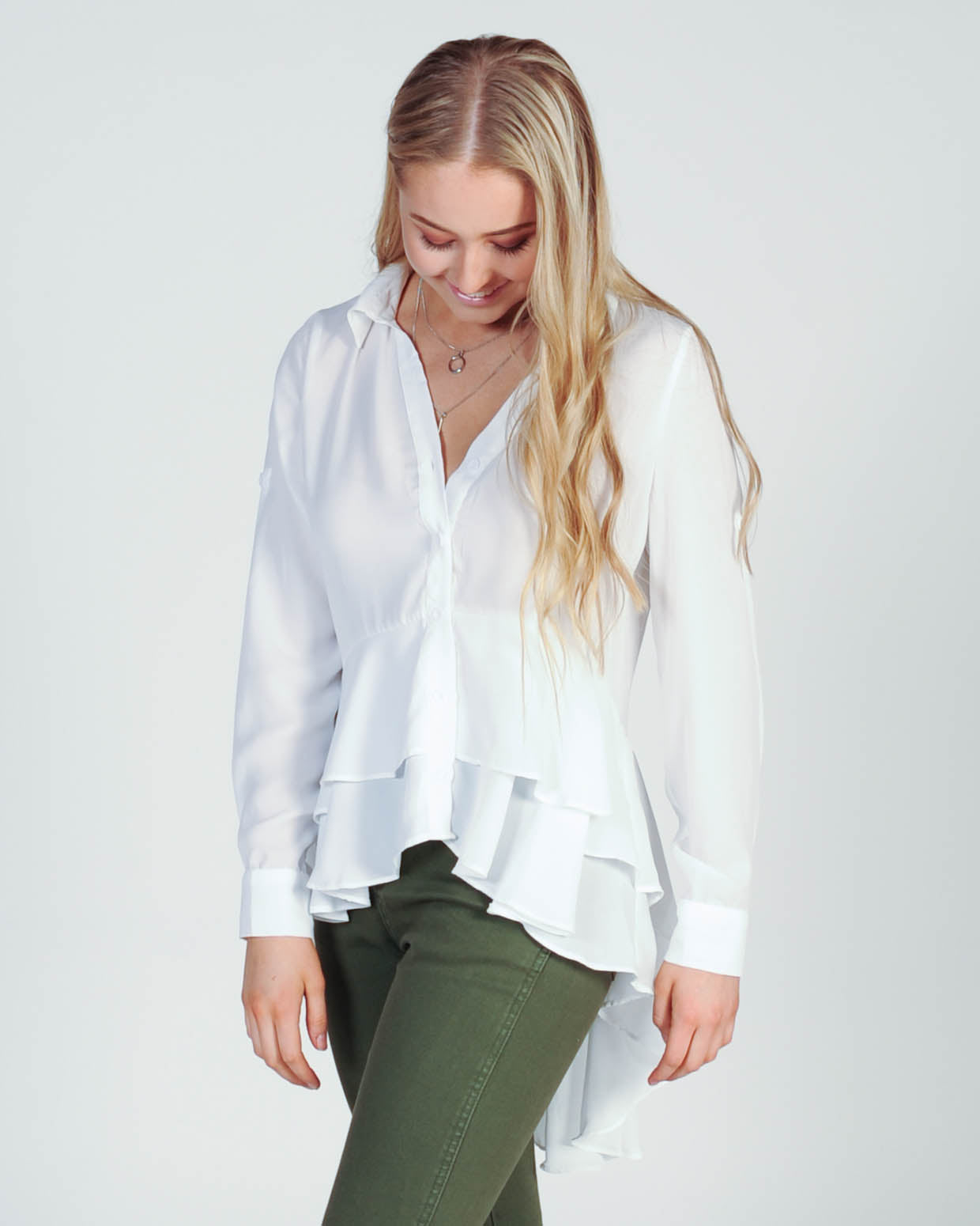 Madison Square Louise Shirt - White