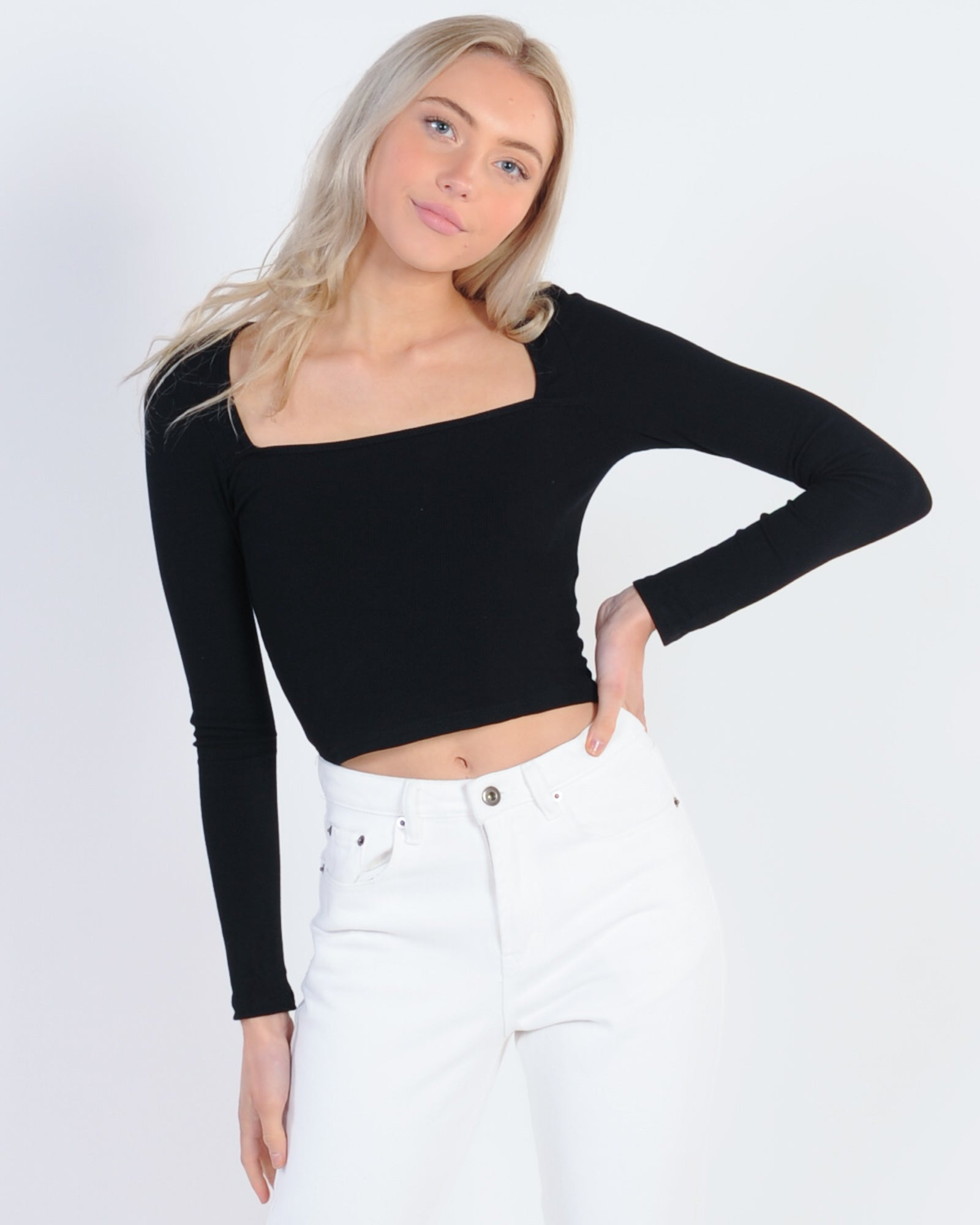 Dreamy Days Top - Black
