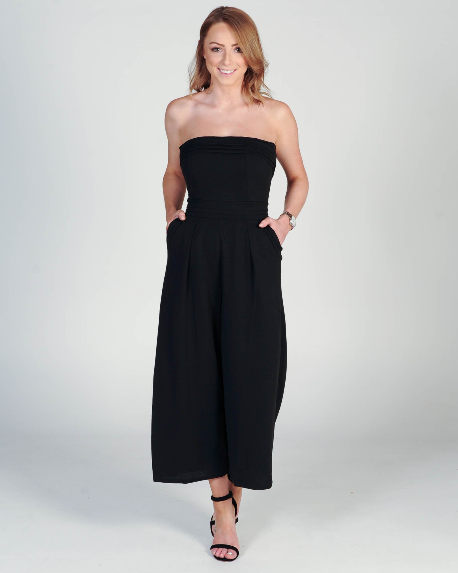 Socialite Jumpsuit - Black