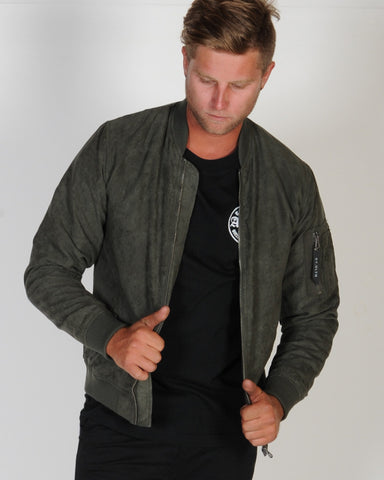 ST. GOLIATH FIELD BOMBER JACKET - KHAKI