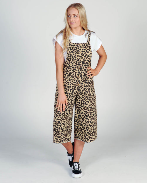 Reckless Jumpsuit - Leopard