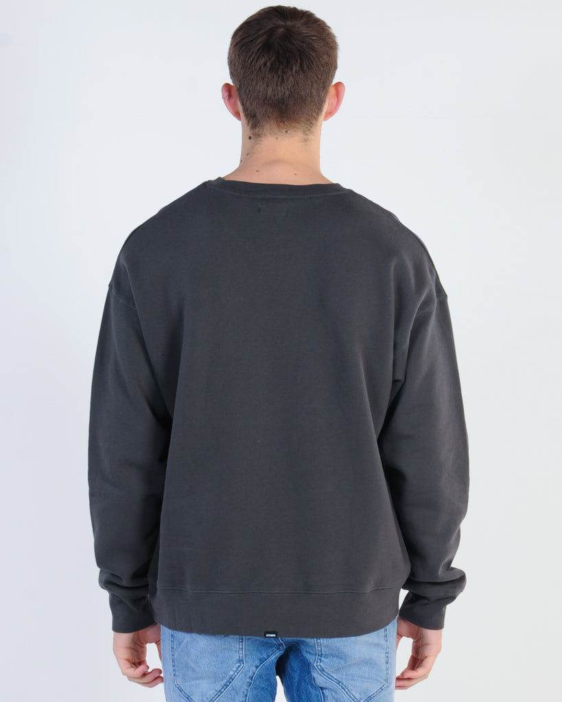 AFENDS TRACK HOOD SWEAT - BLACK