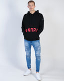 AFENDS VISION 3 CREW SWEAT - BLACK