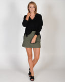 HIGH DEMAND SKIRT - KHAKI