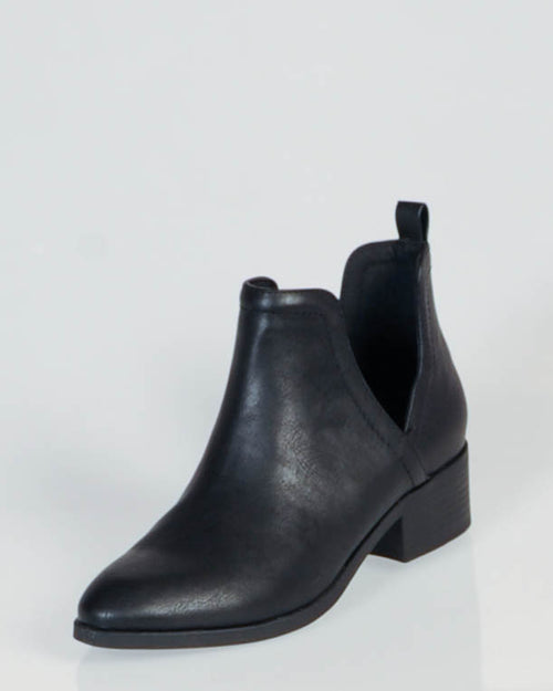 Lipstik Rosemary Boot - Black