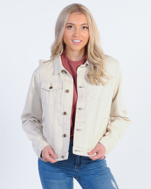 Thrills Marlow Jacket - Dirty White