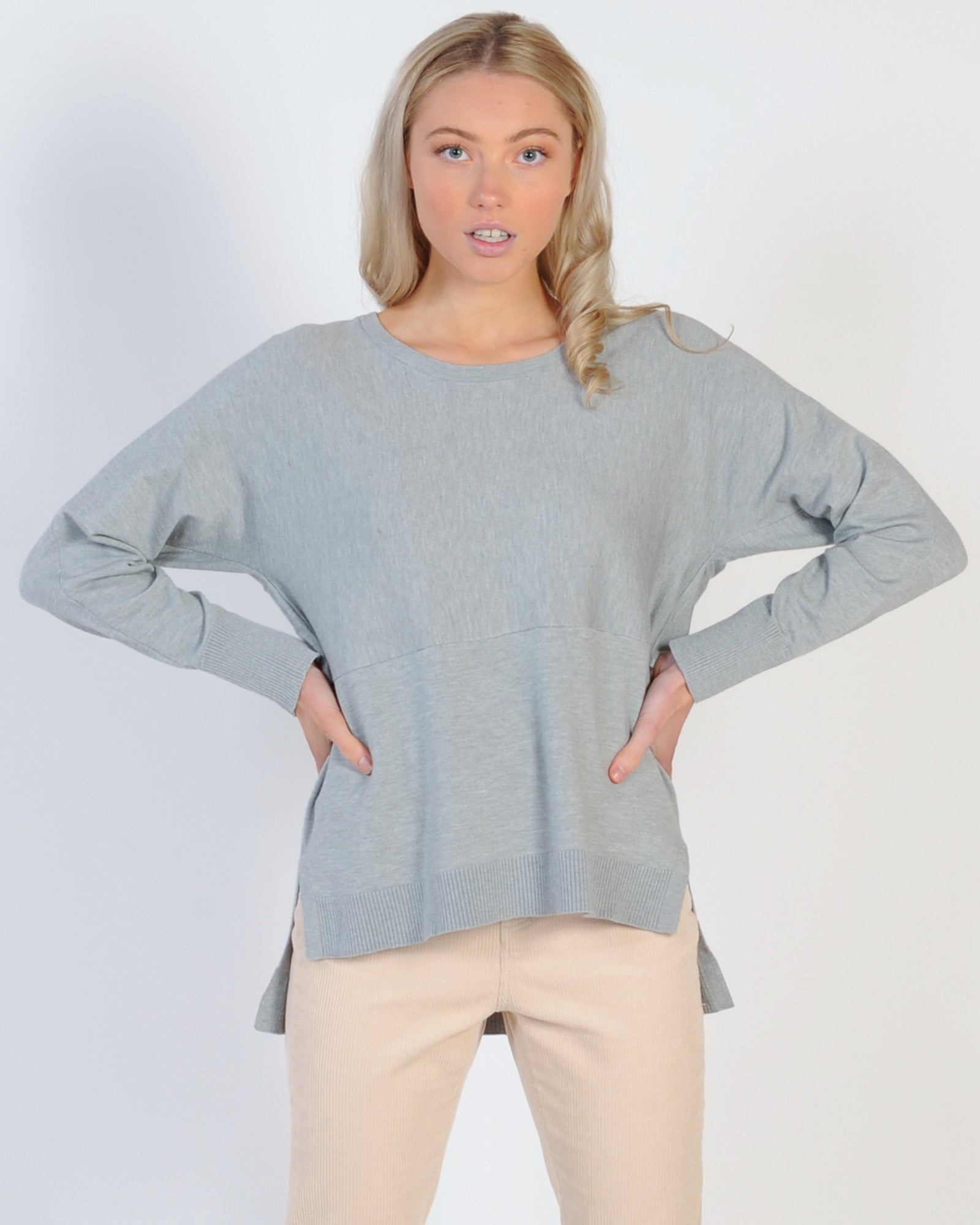 Madison The Label Courtney Knit - Grey