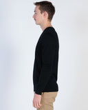 NENA & PASADENA ATHLETIC LS TEE - JET BLACK