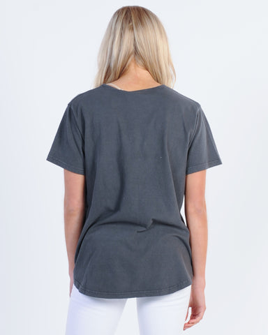 ACADEMY BASIC POP OVER HOOD - BLACK
