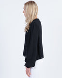 GLOBE GOODSTOCK NEP LS SHIRT - BLACK