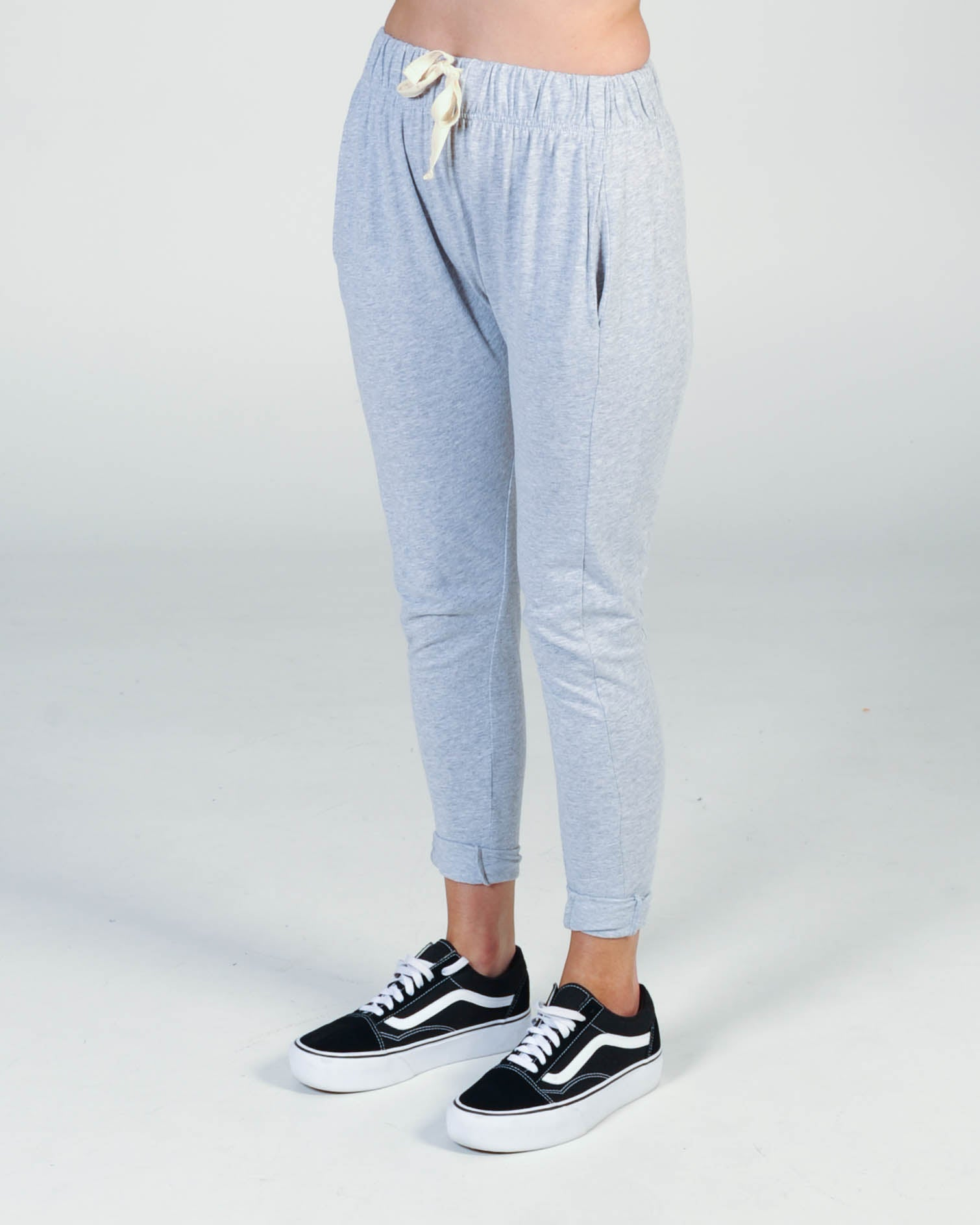 Silent Theory Fluid Pant - Grey Marle