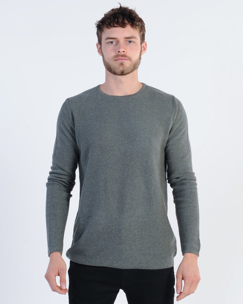 Industrie Richland Knit Jumper - Green