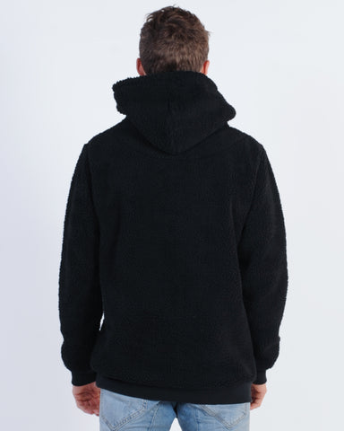 WNDRR ACCENT HOOD SWEAT - GREY MARLE