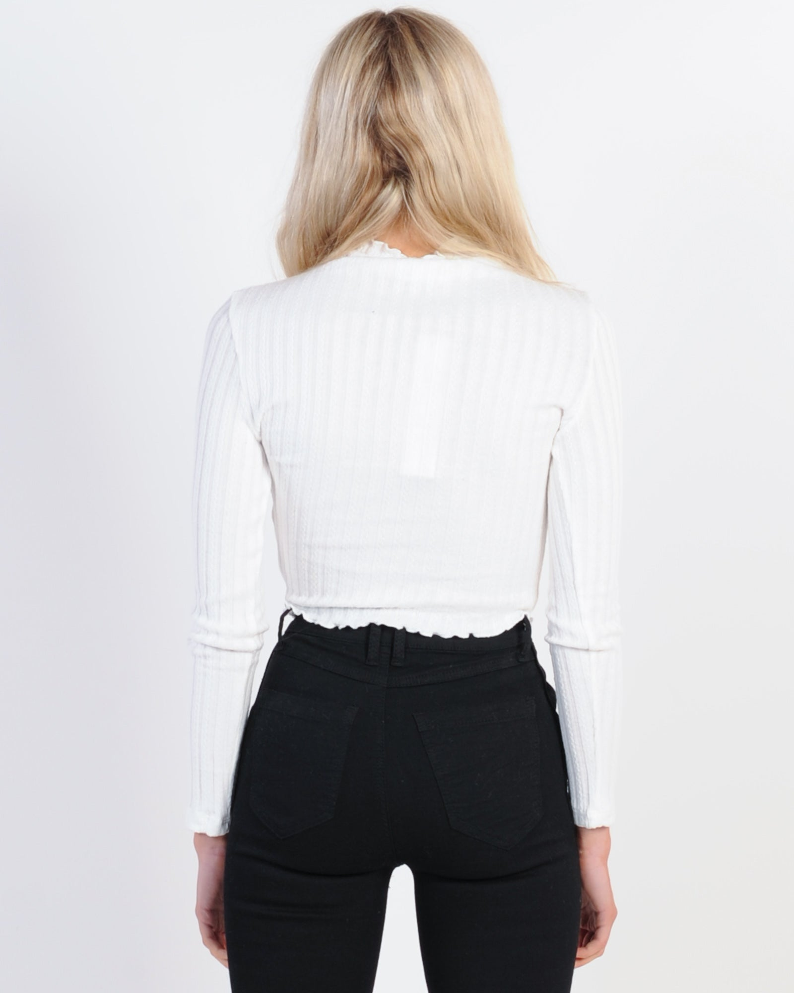 Private Party Top - White