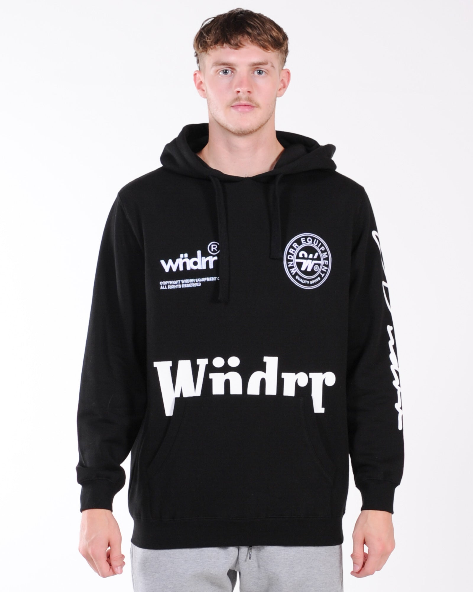 Wndrr Bounty Hood Sweat - Black
