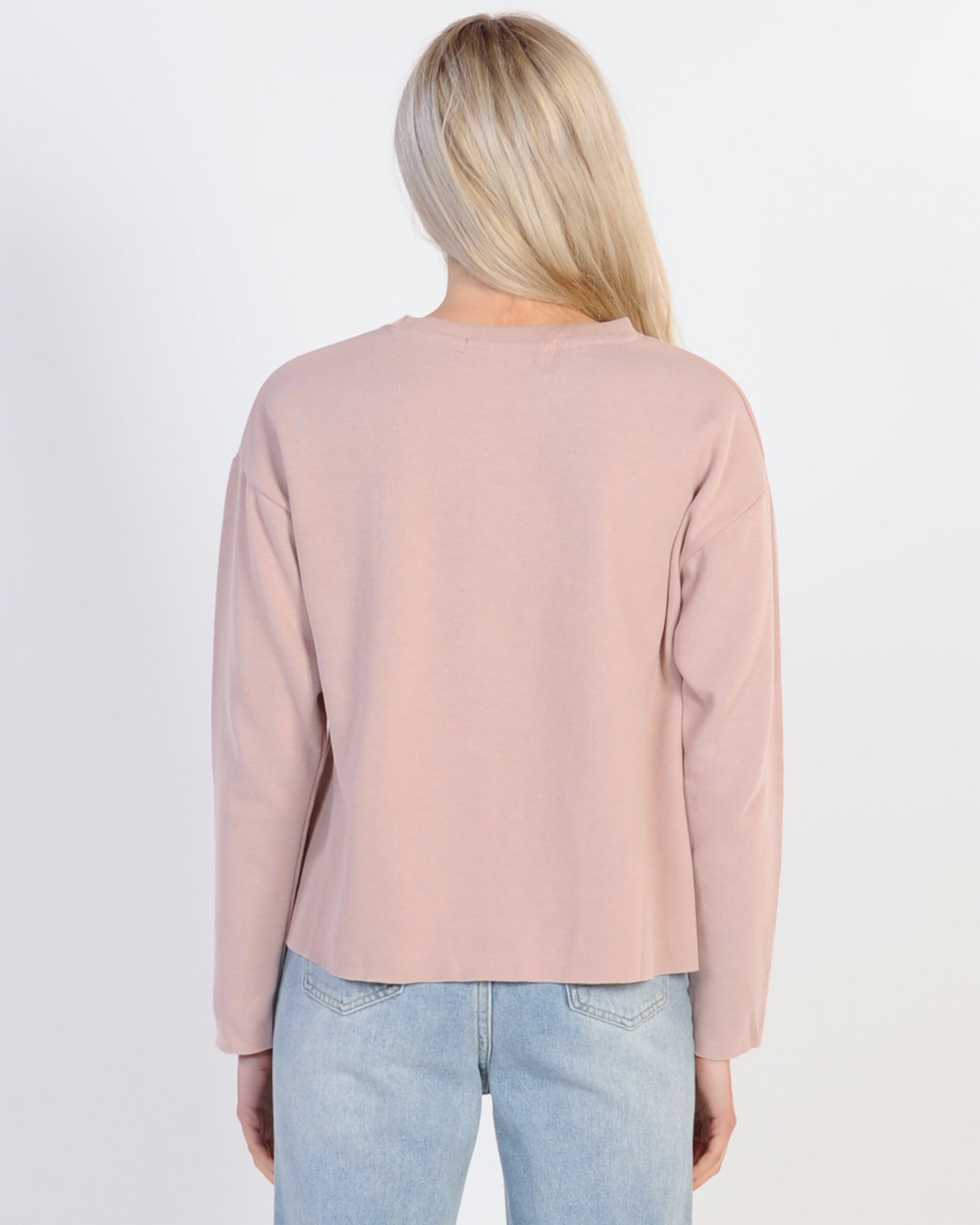 Silent Theory Rage Crew Sweat - Pink