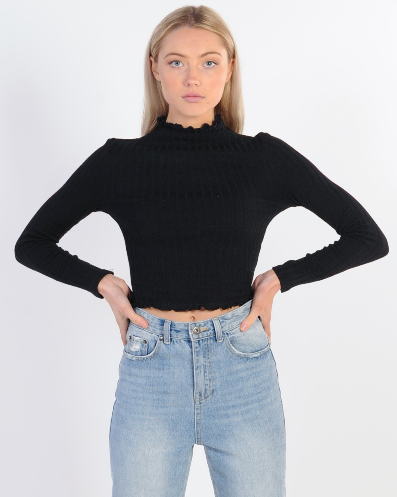 Private Party Top - Black