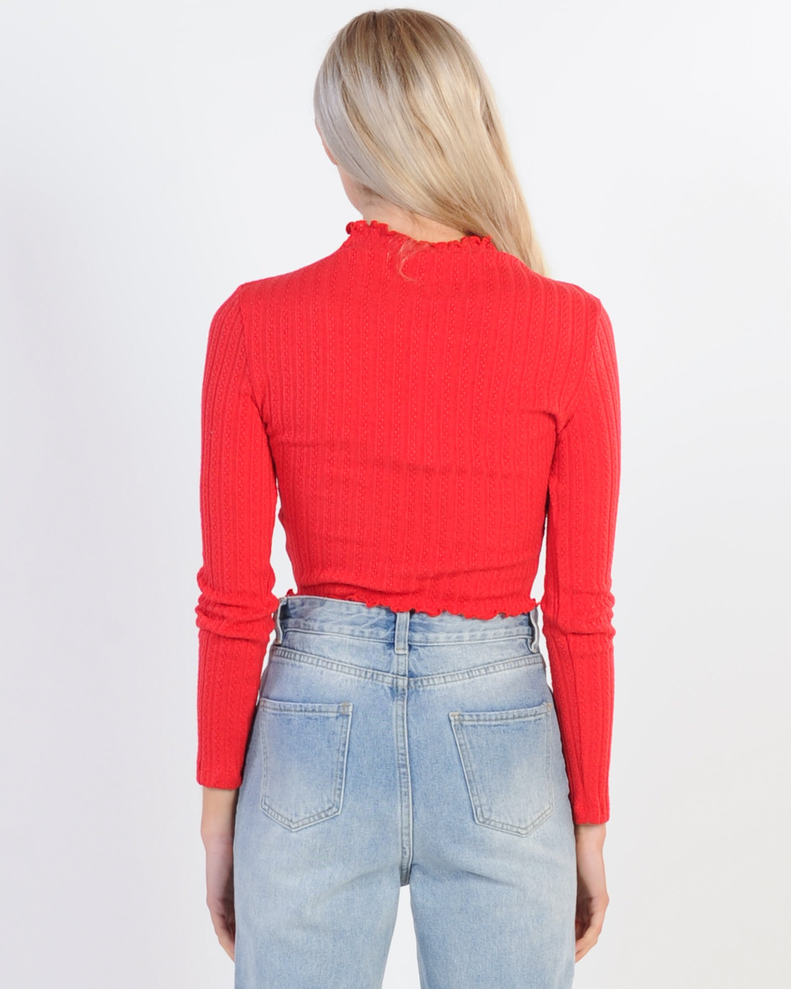 Private Party Top - Red