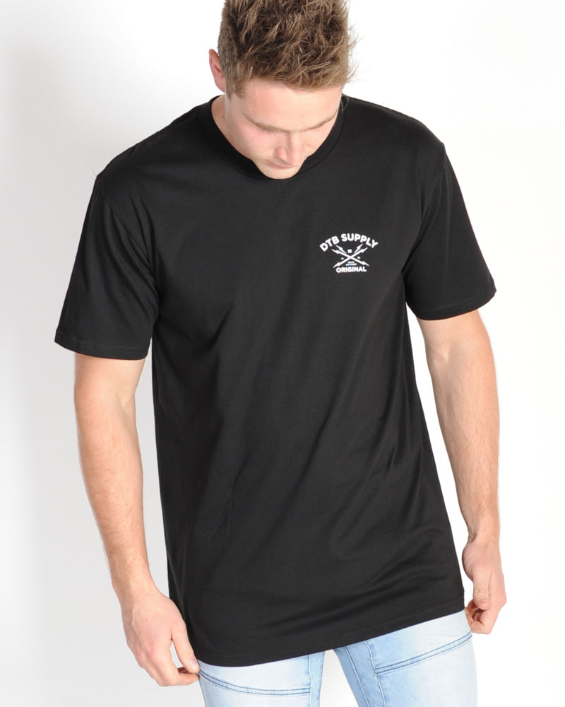 DTB SUPPLY DIVISION TEE - BLACK