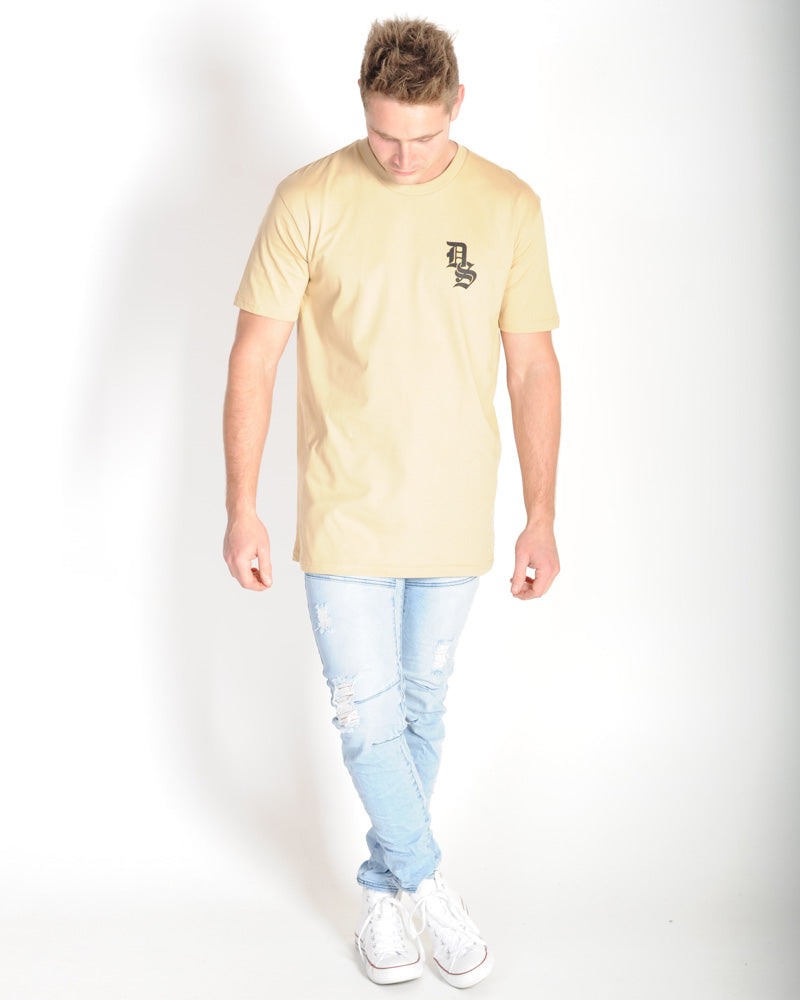 DTB SUPPLY GOTHIC TEE - TAN