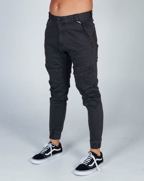 Nena & Pasadena Flight Pant - Washed Black