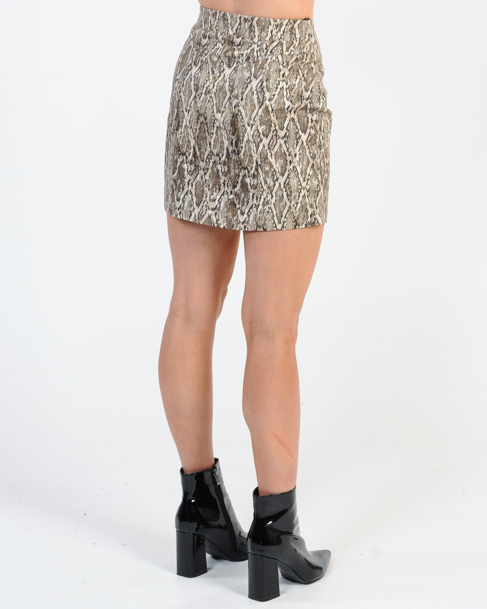 Jorge Viper Skirt - Natural