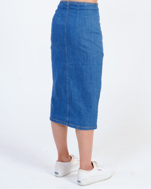 The Fifth Label Scenario Skirt - Mid Blue