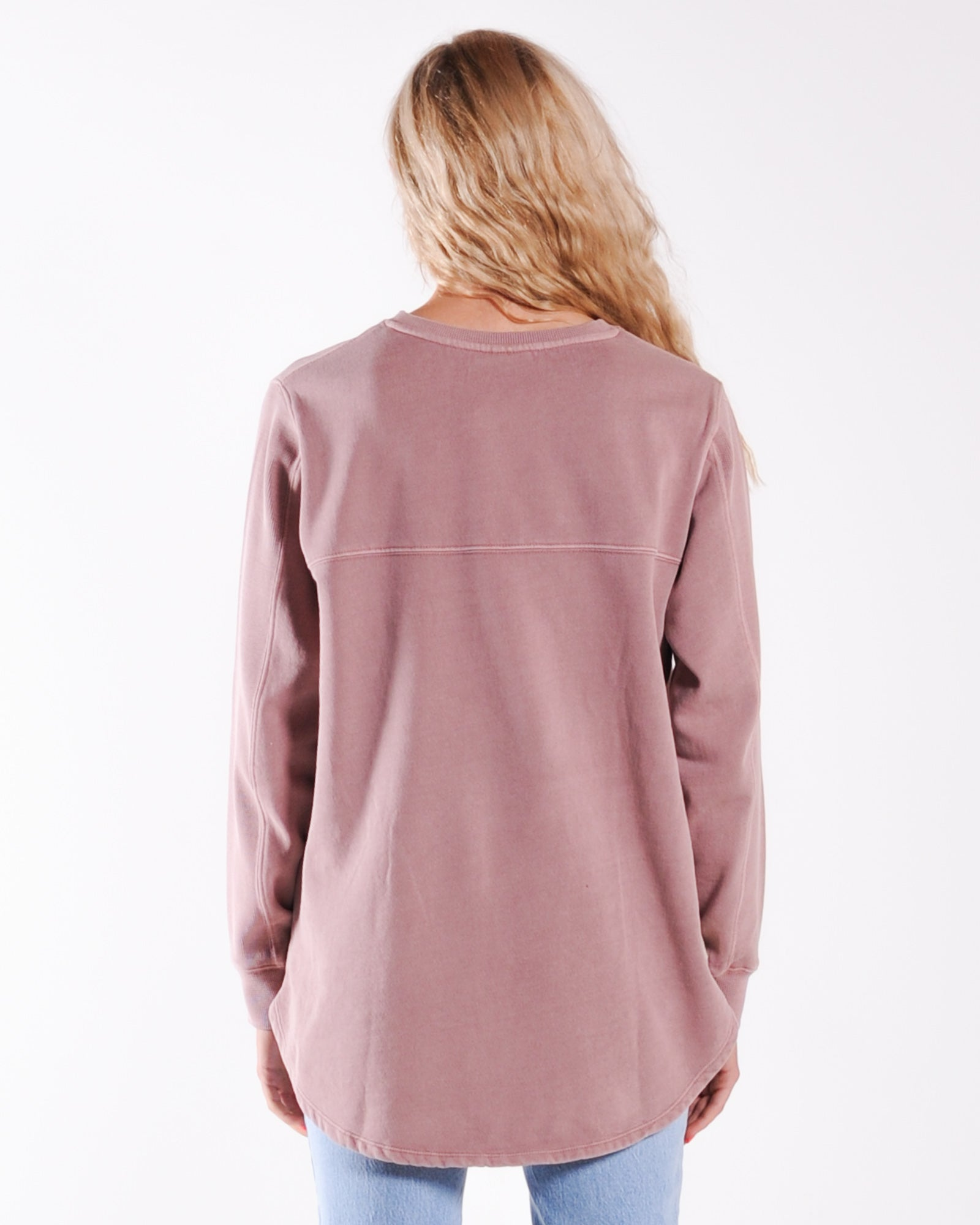 All About Eve Essence Crew Sweat - Plum