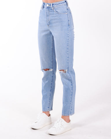 A Brand 94 High Straight Jean - Walk Away