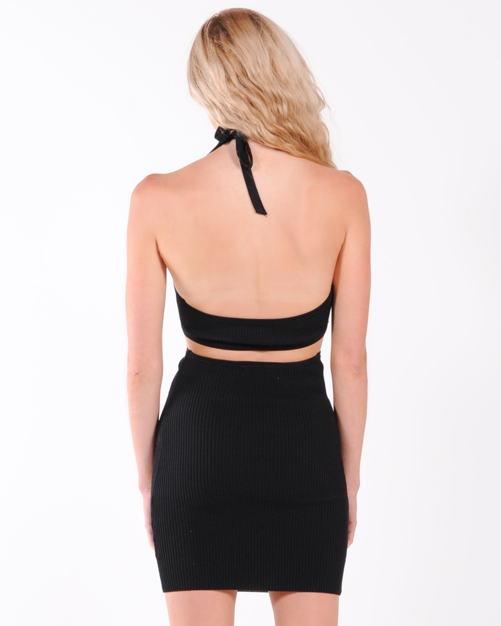 Love At First Sight Midi Dress - Black
