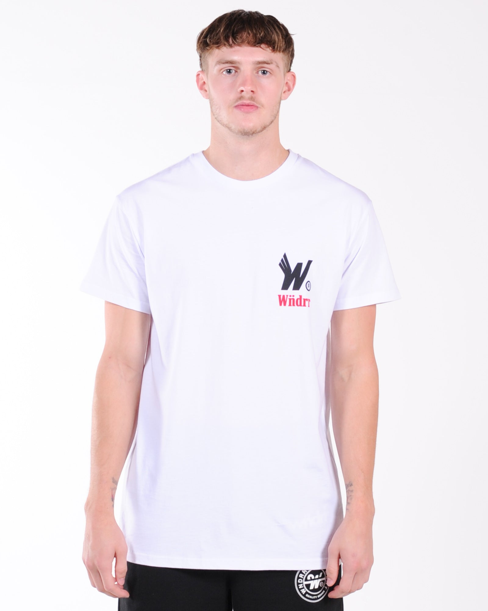 Wndrr Flight Custom Fit Tee - White