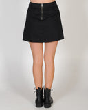 HIGH DEMAND SKIRT - BLACK