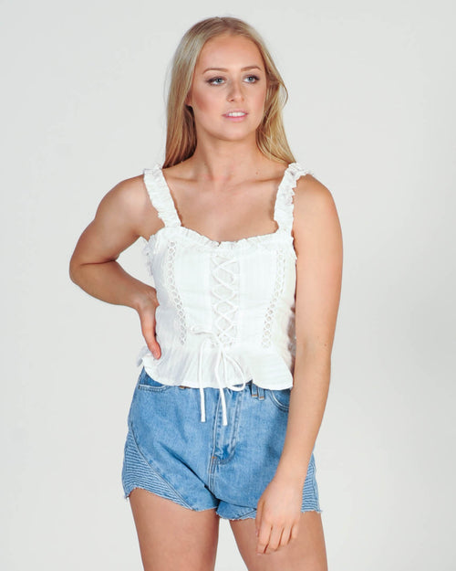 Style Change Top - White