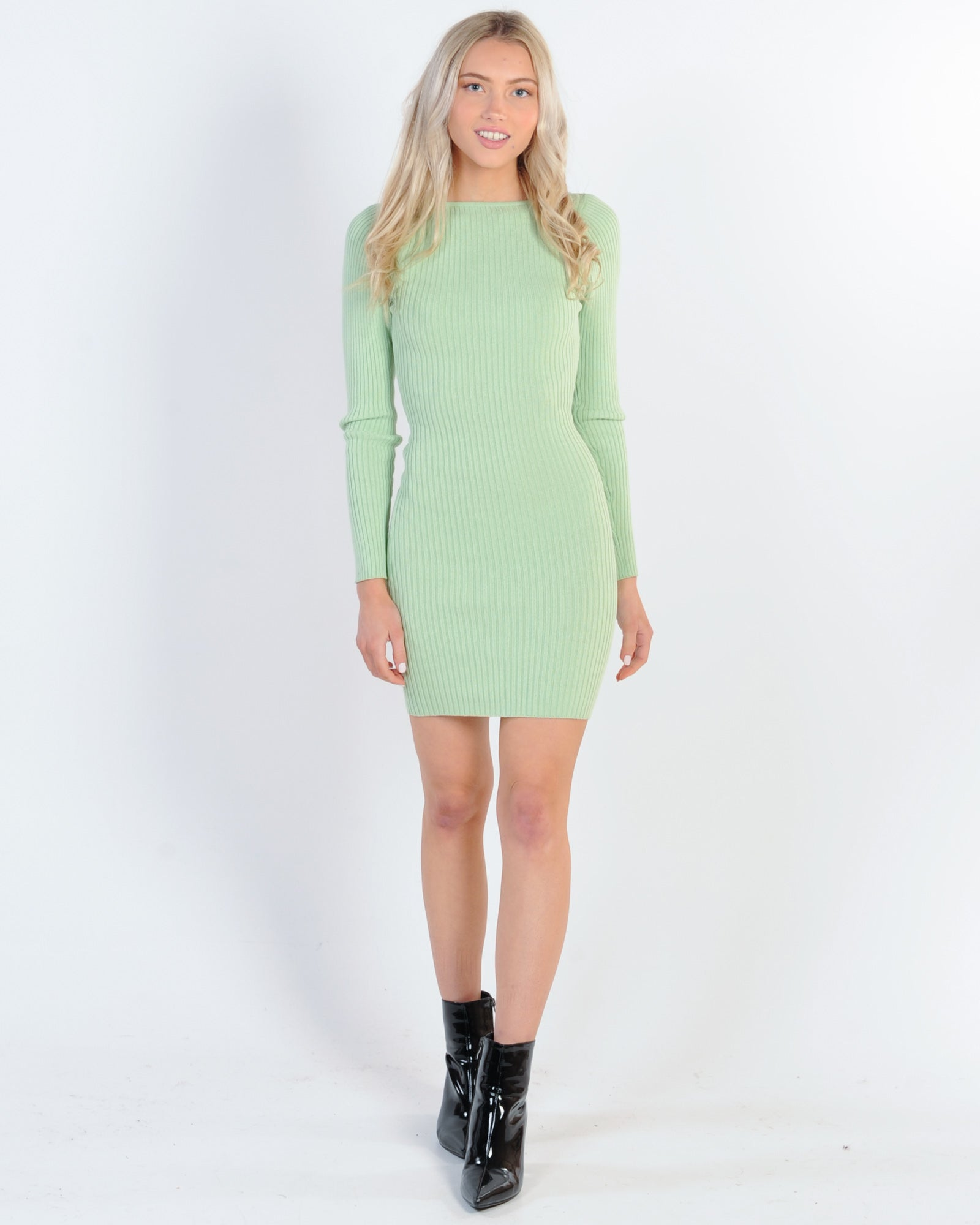 Drinks With Friends Dress - Mint