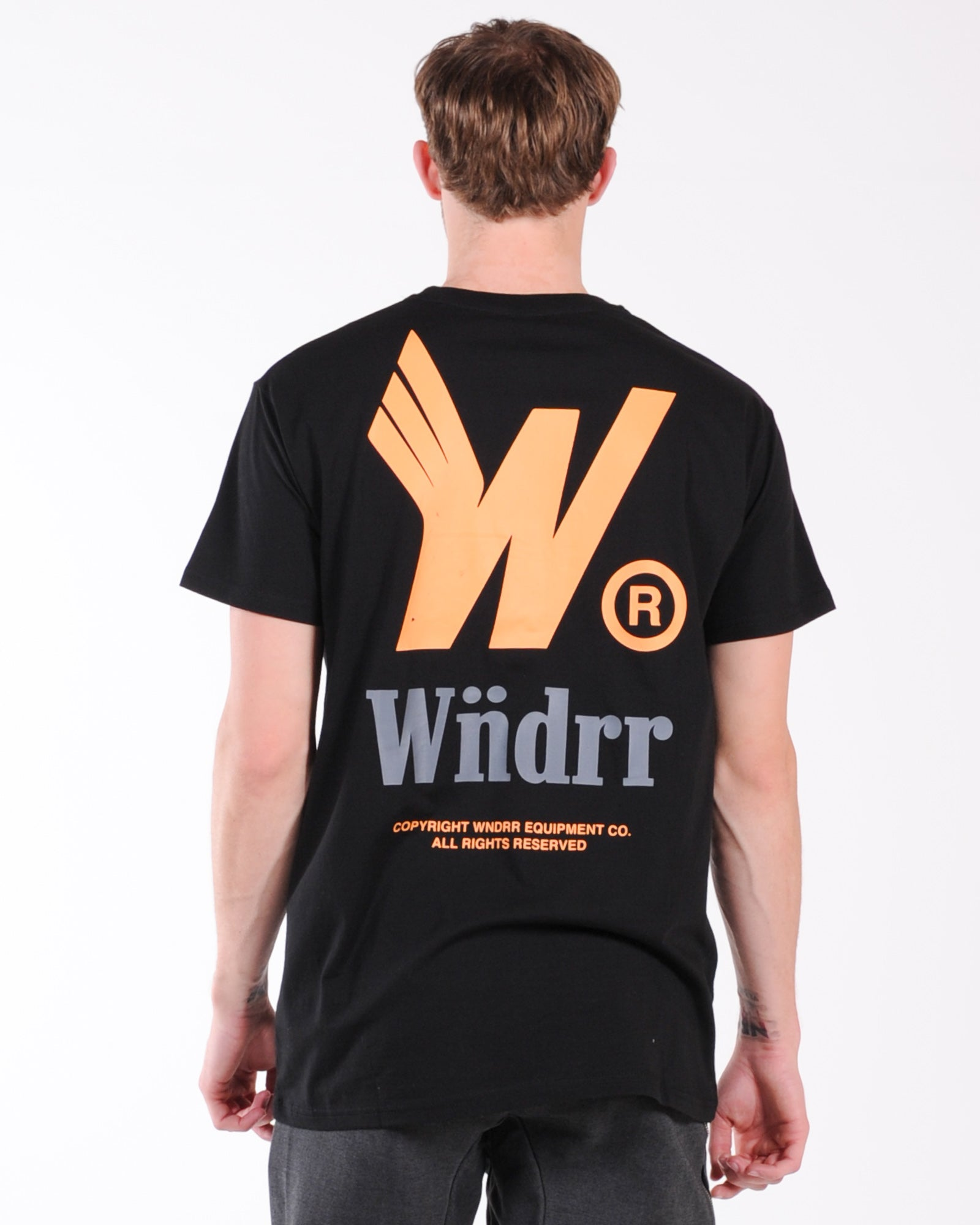 Wndrr Flight Custom Fit Tee - Black