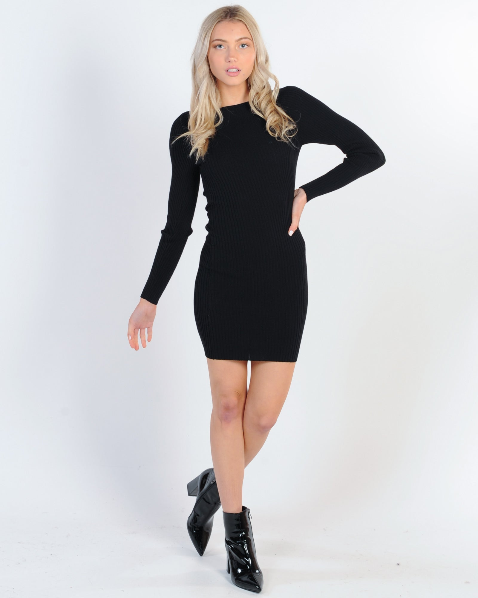 Drinks With Friends Dress - Black