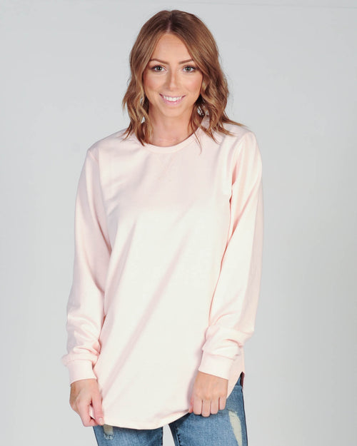 All About Eve Chase Longline Jumper - Pink