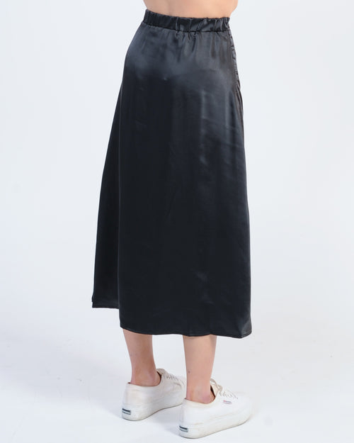 Number One Wrap Skirt - Navy