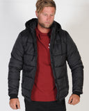 MOSSIMO ESSEX PUFFER JACKET - BLACK