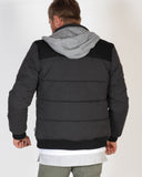 MOSSIMO DORCHESTER PUFFER JACKET - BLACK