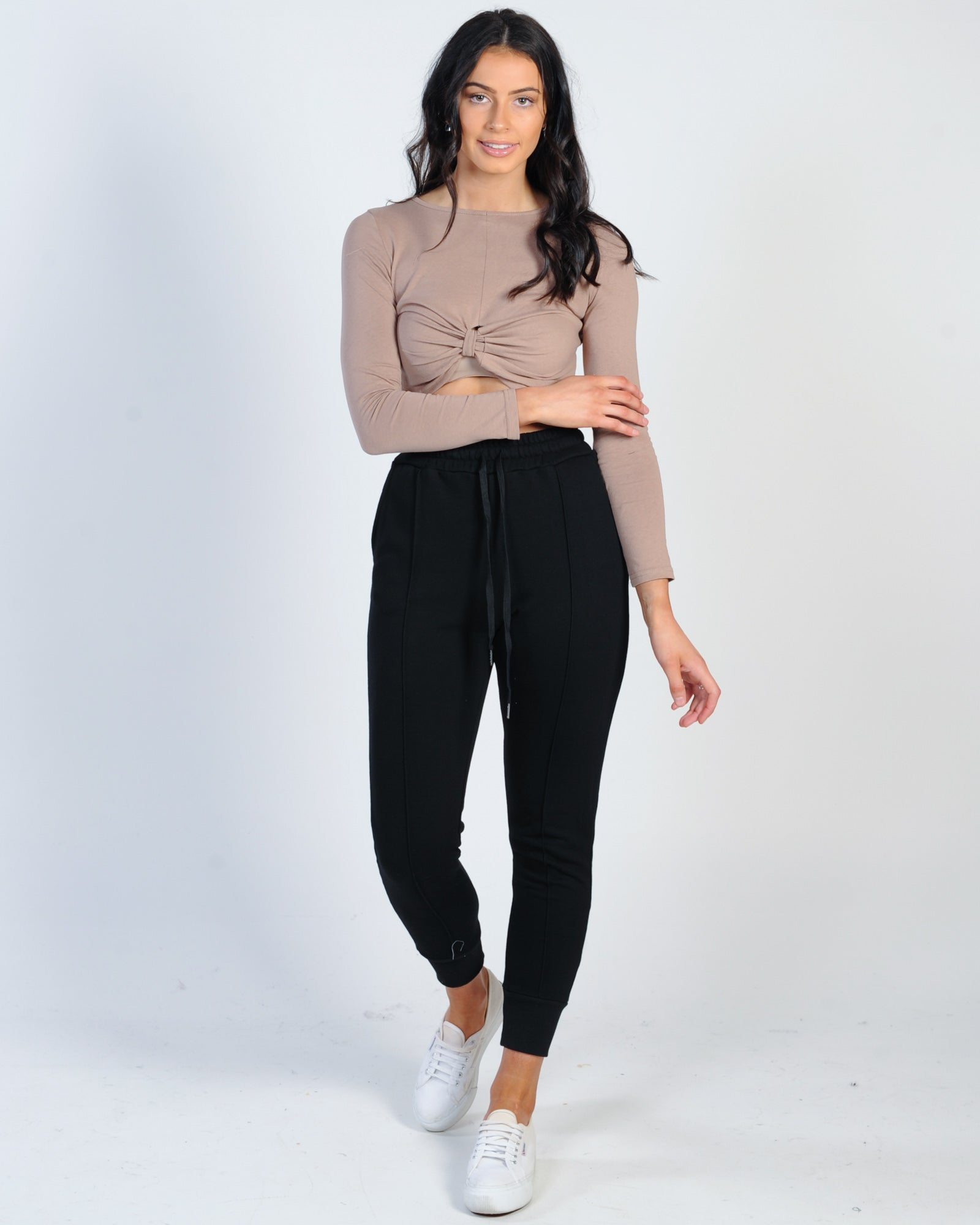 Madison The Label Billie Joggers - Black