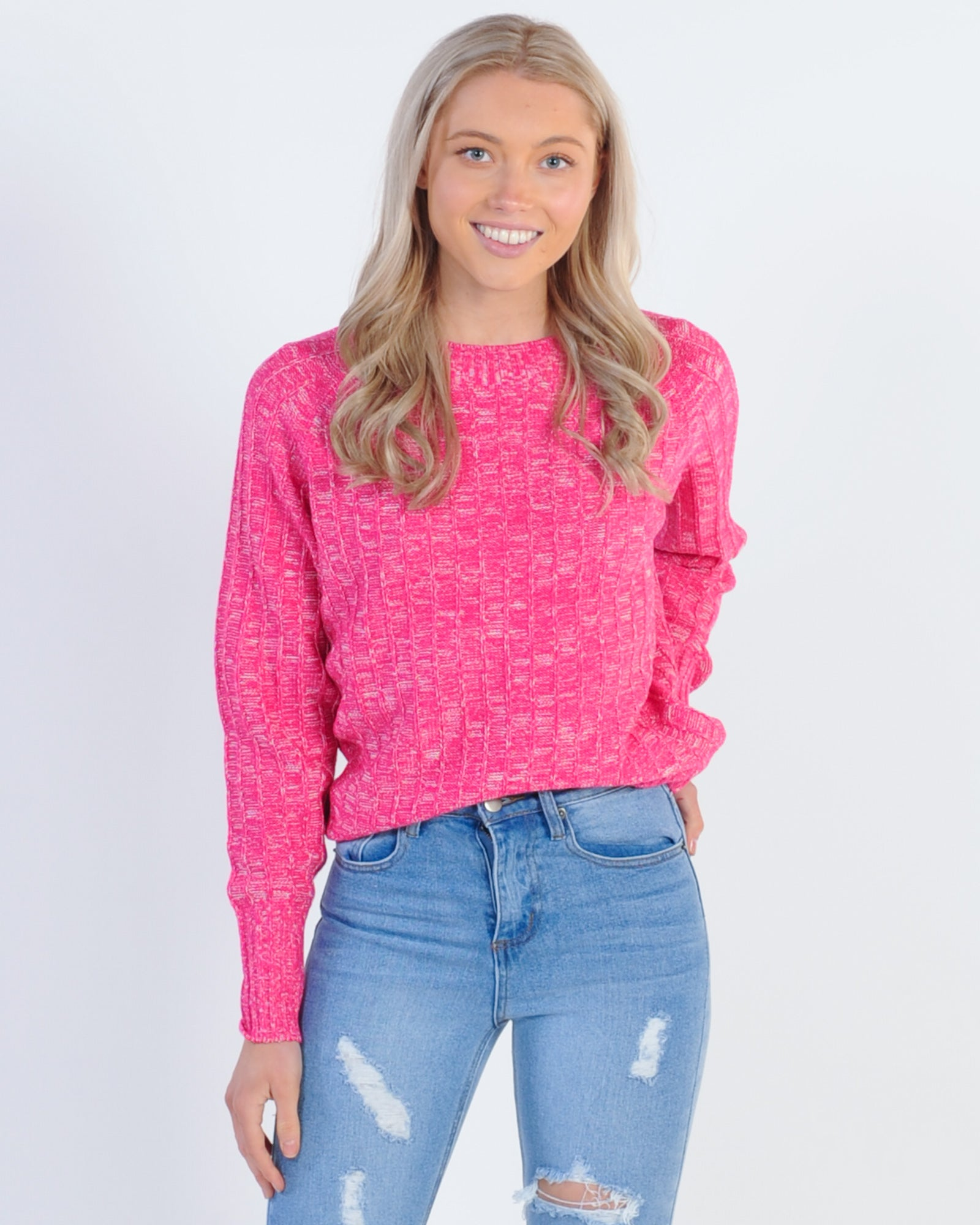 The Fifth Label Electricity Knit - Pink Marle