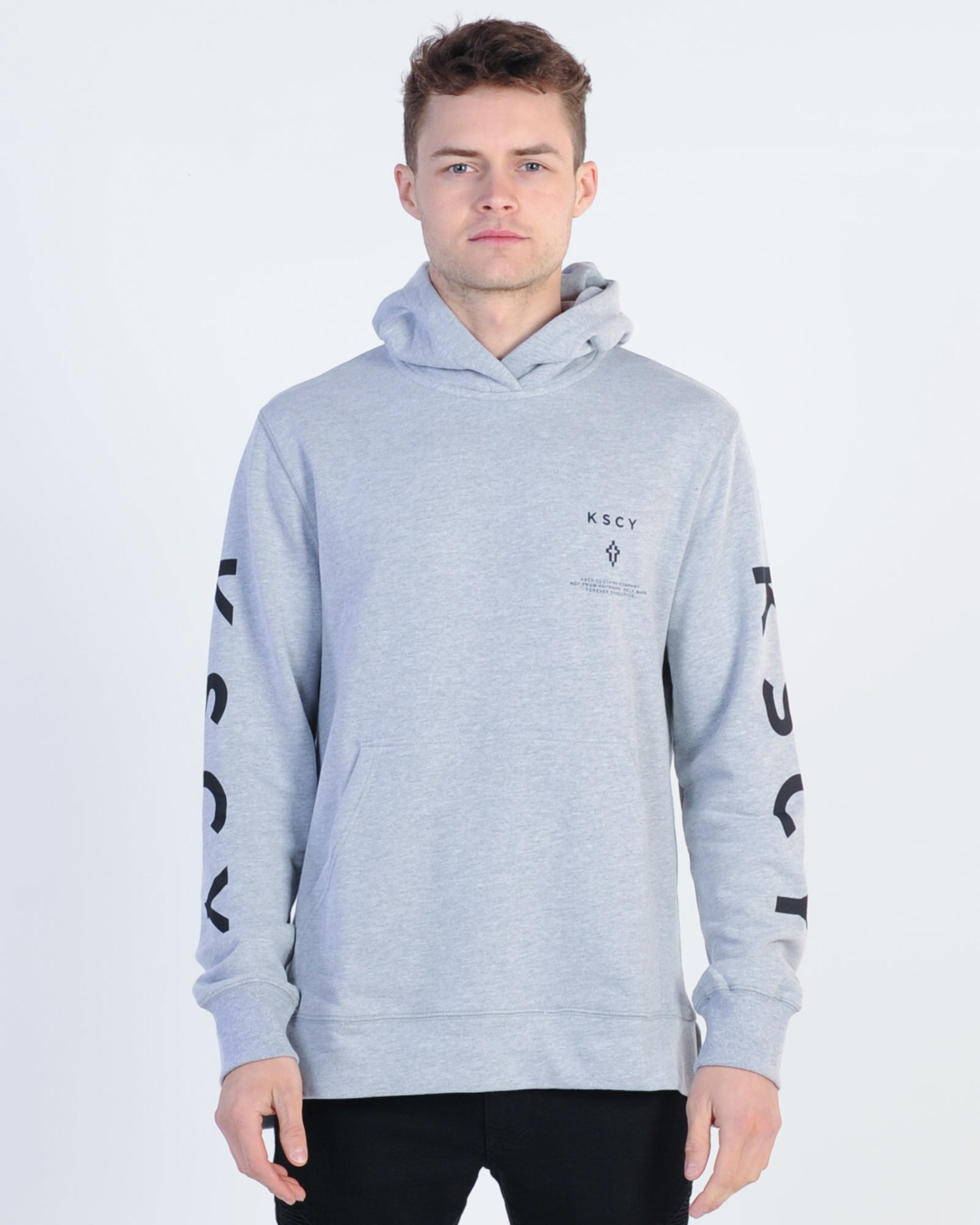 Kiss Chacey Live Hood Sweat - Grey Marle