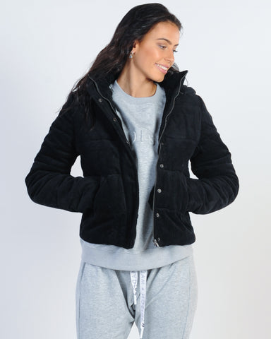 All About Eve Mix And Match Puffer Jacket - Multi